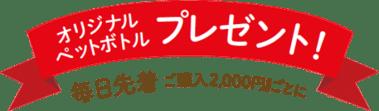 ユニクロ版ブラックフライデー特典:オリジナルペットボトルプレゼント