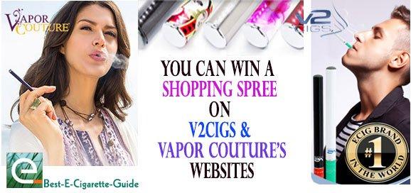 V2Cigs Vapor Couture eGift Contest on Best-E-Cigarette-Guide post