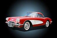 Classic corvette car