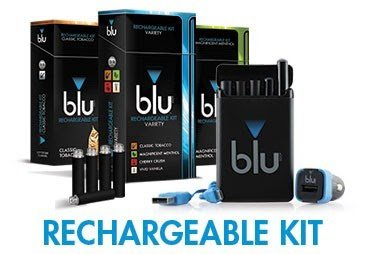 Blu E Cigs rechargeable kit