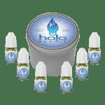 Halo Cigs eLiquid Sample Pack