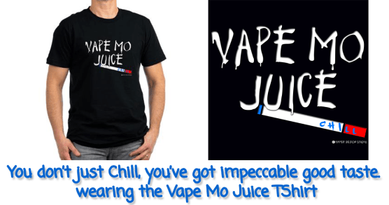Vape Mo Juice ecigarette T-Shirt from Vaper Design Studio