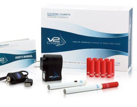 V2Cigs Standard Starter Kit for beginner vapers