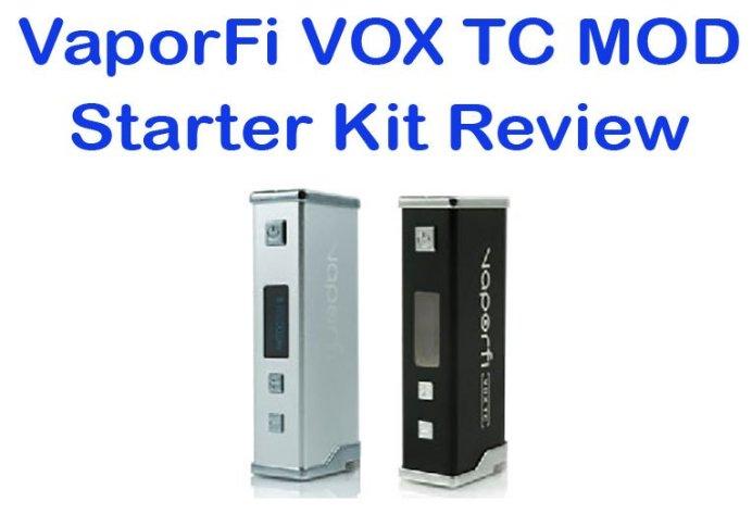 VaporFi VOX TC Mod Review