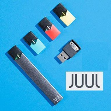 JUUL starter kit and pod styles