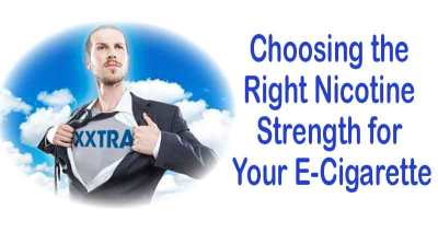 Choose the right nicotine strength for your ecig
