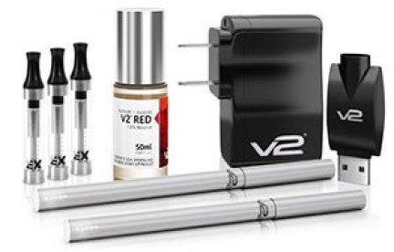V2 E-Liquid Starter Kit with Ex Blank Cartomizer