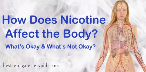 How Does Nicotine Affect the Body?