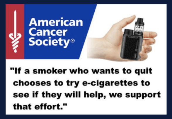 American Cancer Society e-cigarettes