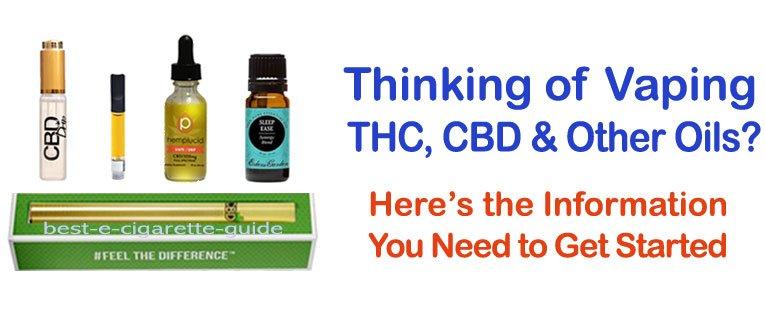 Vaping THC & CBD Oils - What You Need to Know and How to Buy