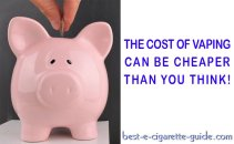 The Cost of Vaping Can Be Cheaper Than You Think