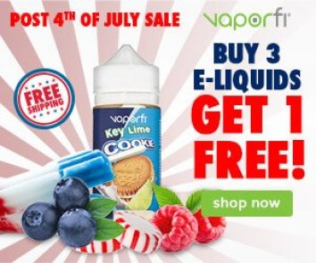 Vaporfi 4th of July extended sale