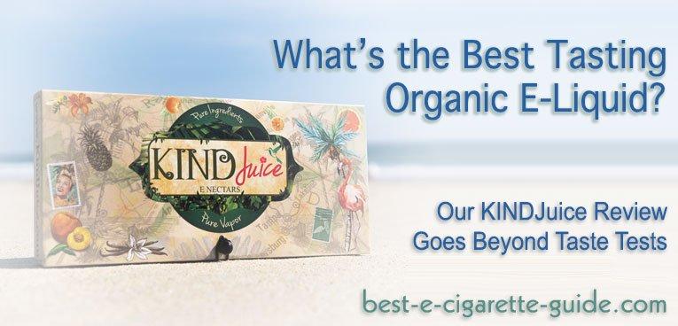 KINDJuice Organic ELiquid review