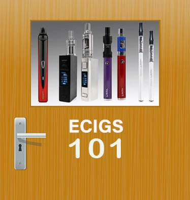ecigarettes 101 door and vaporizers