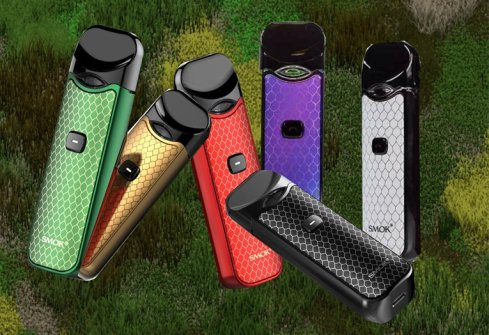 SMOK NORD pod vape in 6 colors