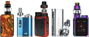 Top 5 Mini Mod Vaporizers in Colors