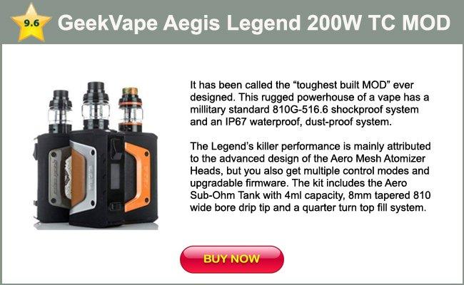 GeekVape Aegis Legend 200W TC-mini review