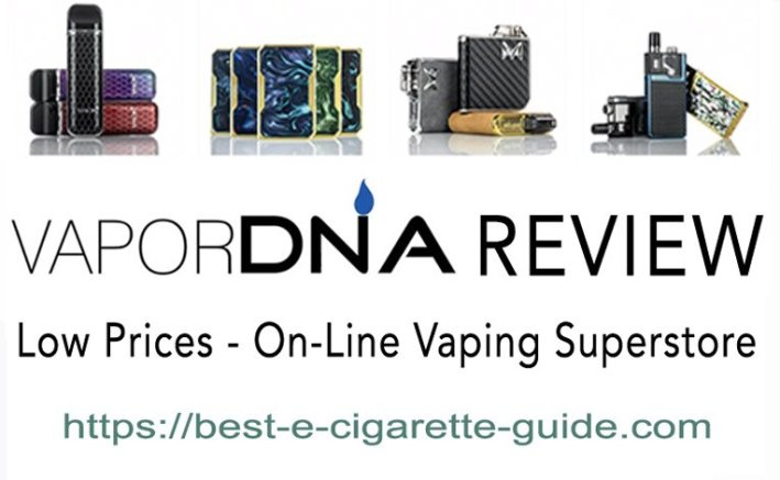 VaporDNA Review Title Image with products - best-e-cigarette-guide