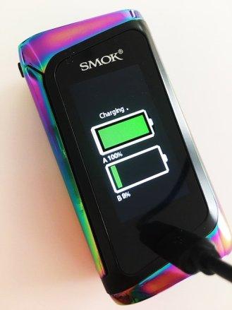 SMOK Morph Charging Screen