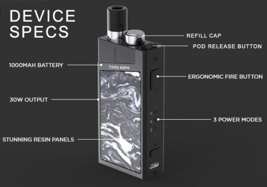 SMOK Trinity Alpha - Is It a Step Above the Nord? • Best-E