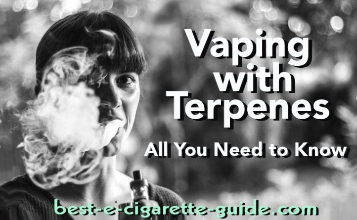 Vaping with Terpenes-all you need to know - post title image