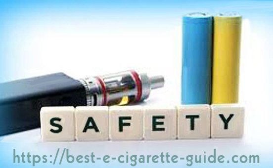 E-Cig Batteries With Safety Features-Title Image