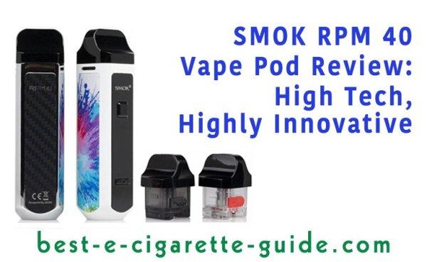Smok RPM40 Vape Pod Review
