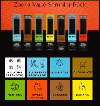 Graphic - Zaero Sampler pack