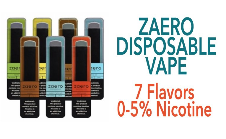 Zaero Disposable Vape Featured Image