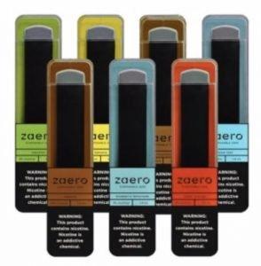 Zaero Disposable Vape in 7 flavors