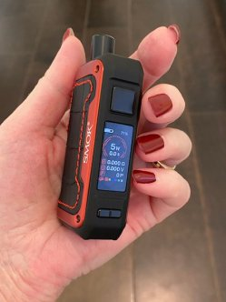 SMOK ALIKE in woman's hand