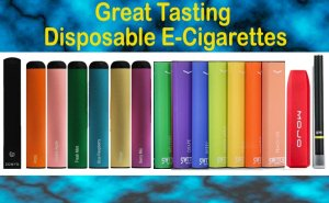 Great Tasting Disposable E-Cigarettes Featured Image 8/2020