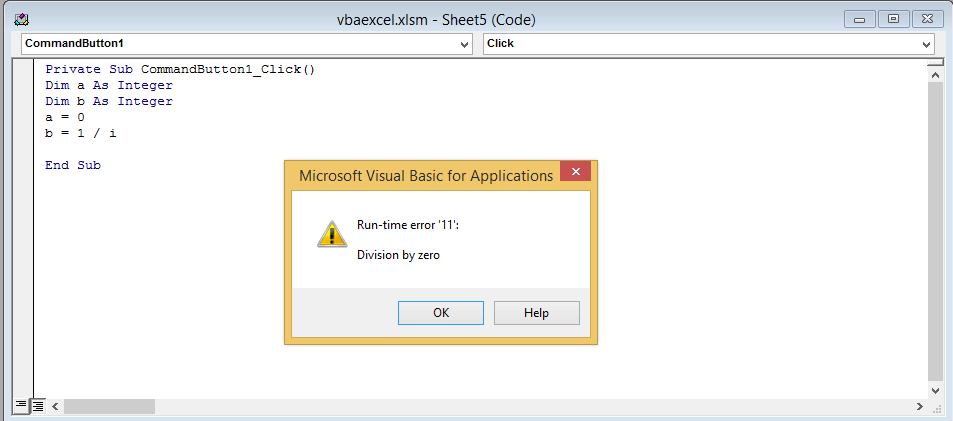 Most common bugs in VBA code? « Excelprovegue