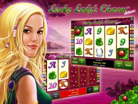 Игровой автомат Lucky Lady's Charm (Леди Шарм, Удачливая Леди) – играть онлайн