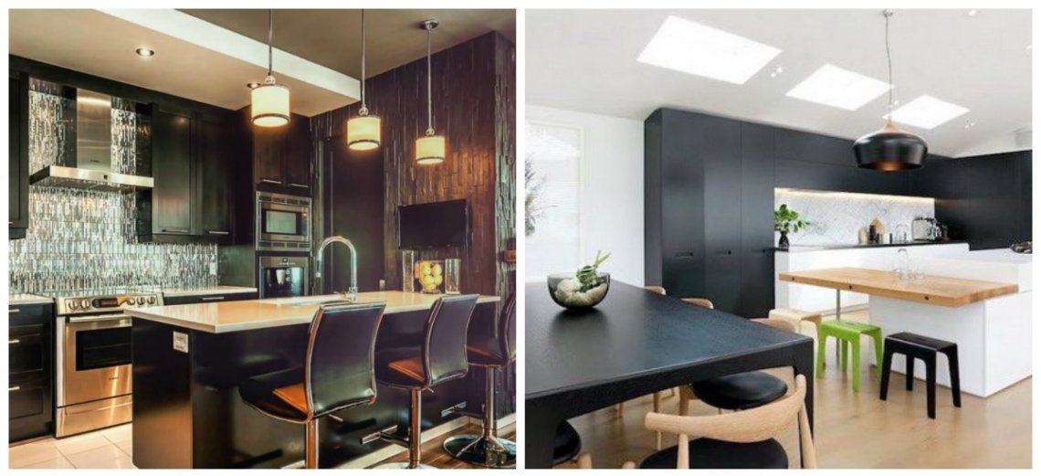 Modern kitchen 2019: top styles and colors for modern ...