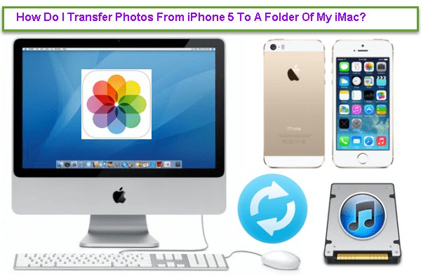 How To Transfer Photos From iPhone 5 To A Folder Of My iMac?