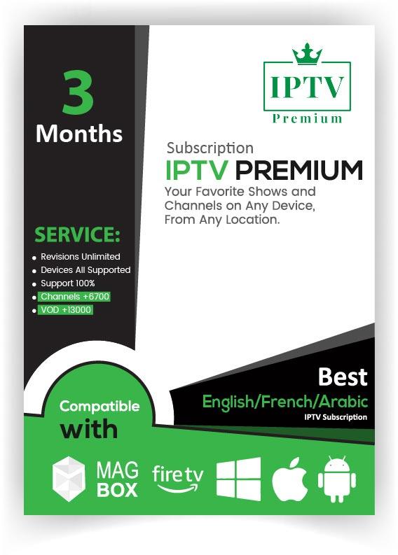 IPTV PREMIUM 3 Months