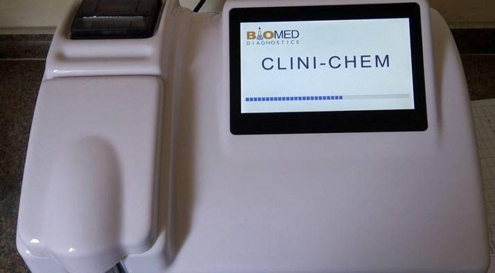 جهاز كيمياء الدم كلينيكم 1