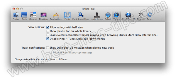 TinkerTool itunes