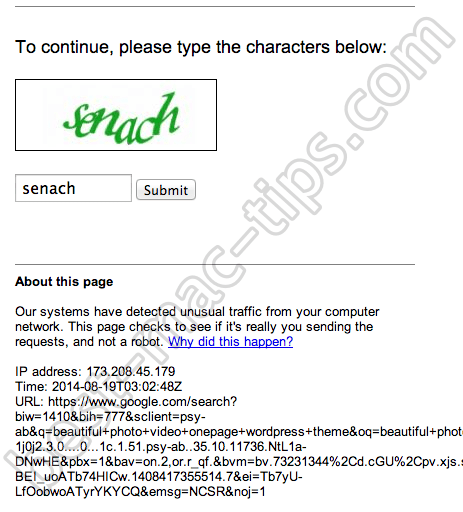 hideipvpn-google-captcha