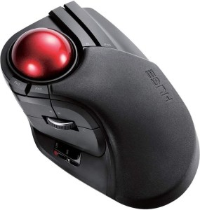 ELECOM 2.4GHz Wireless Trackball Mouse