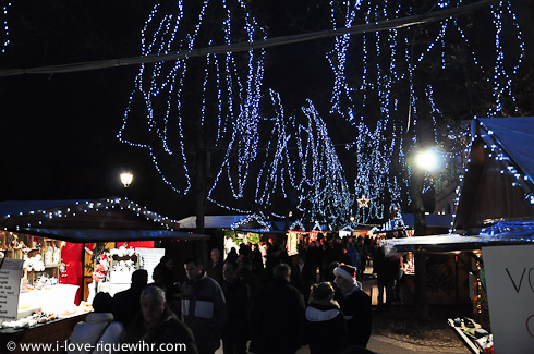 Main Christmas market in Riquewihr