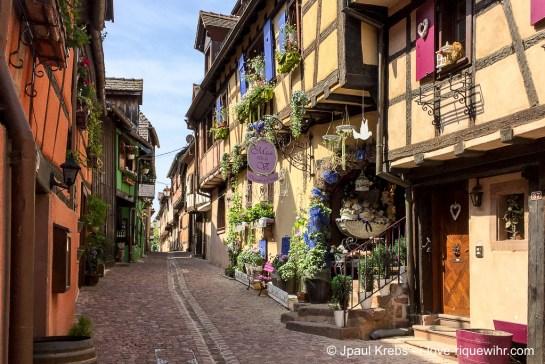 Riquewihr, Alsace, rue des Remparts
