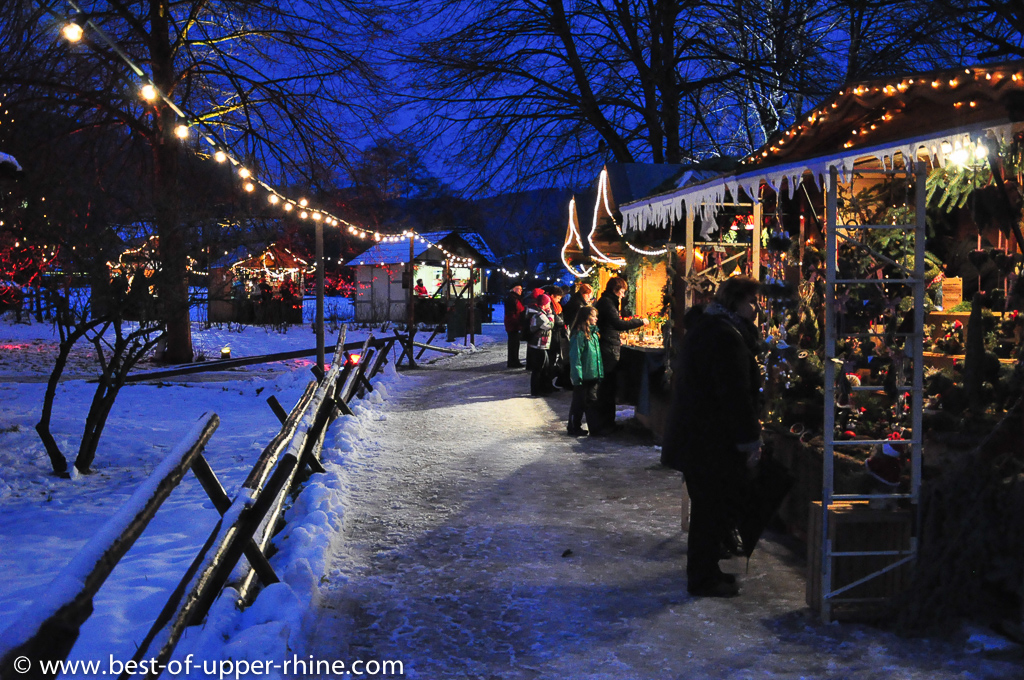 Christmas market at the Black Forest Gutach open air museum