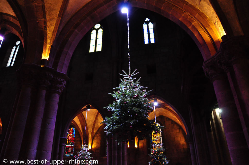 The very first documents refer to Christmas trees being decorated with apples.
