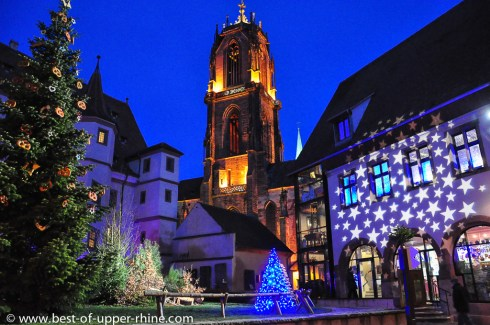 Selestat in Alsace, hometown of the Christmas tree deserves a visit in any season but especially during the Christmas period, from end of November to beginning of January.