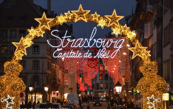 Strasbourg, capital city of Christmas