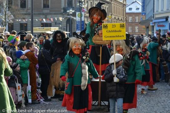 Carnival Fasnacht Parade in Emmendingen - Germany