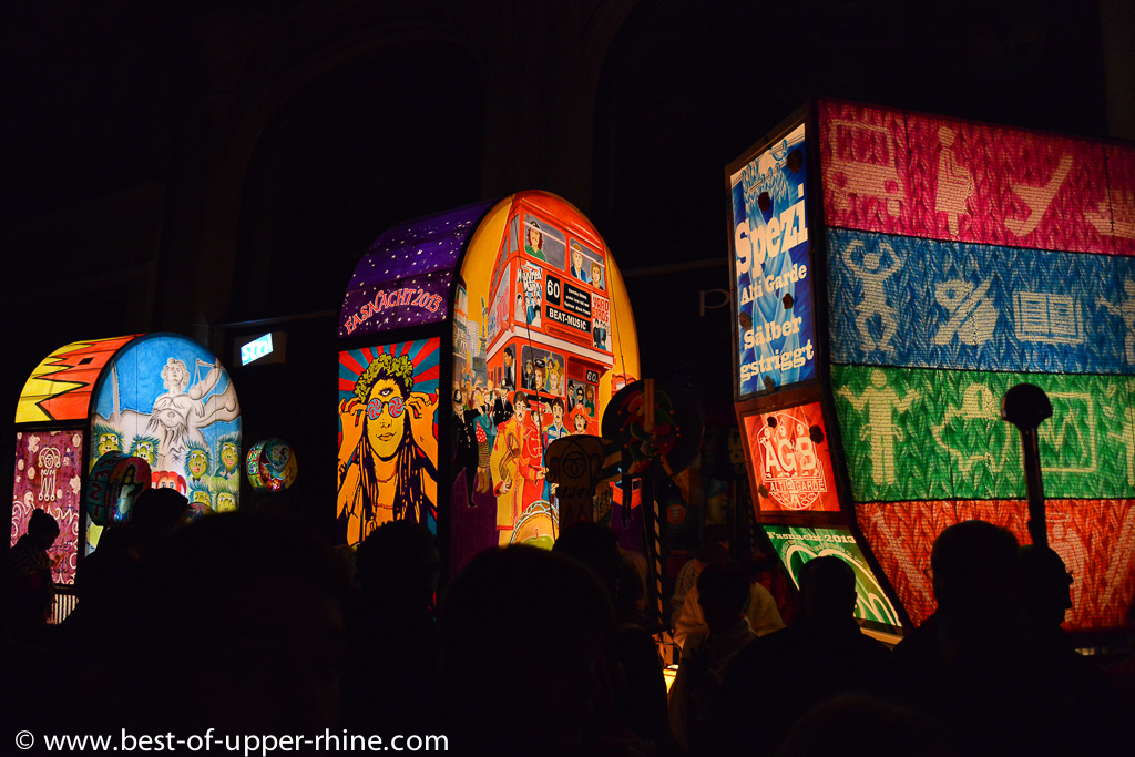 Basel carnival - lanterns