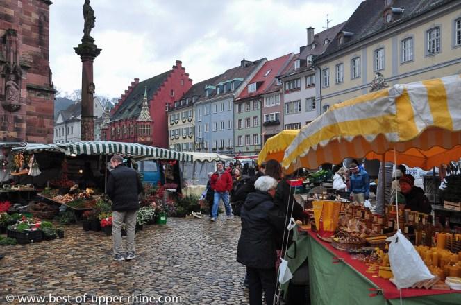 Münstermarkt in Freiburg im Breisgau